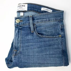 Frame Denim Le Skinny De Jeanne Crop Size 27